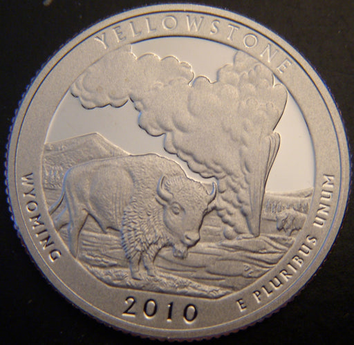 2010-S Yellow Stone Quarter - Clad Proof