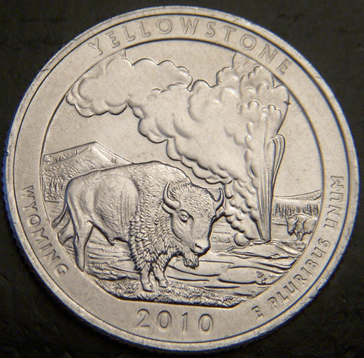 2010-P Yellowstone Quarter - Unc.