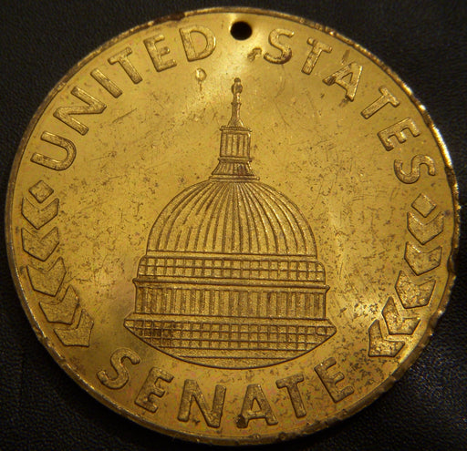 1968 Birch Bayh United States Senate Medal