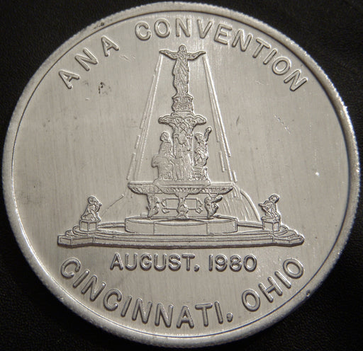 1980 ANA Convention 20th Anniversary Coin World Token