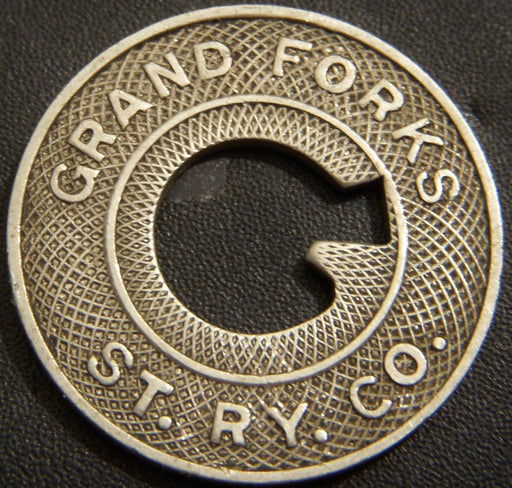 Grand Forks Trolley Token - North Dakota