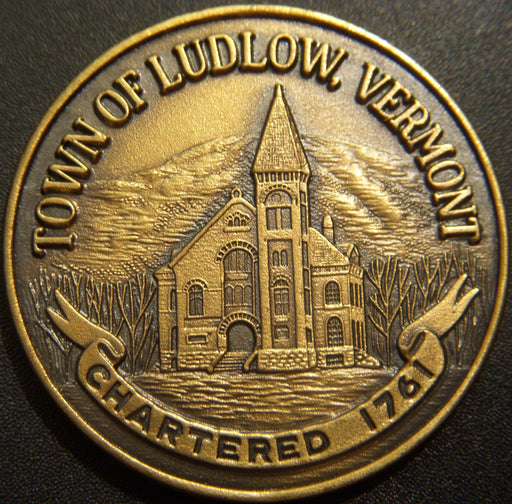 1976 Town of Ludlow Vermont Medal