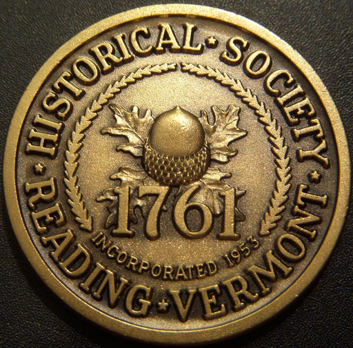 1976 Reading Vermont Medal