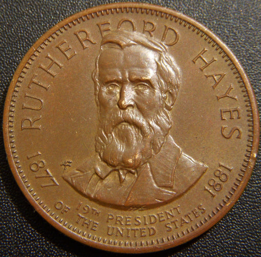 Rutherford Hayes 19th President Commemorative Token