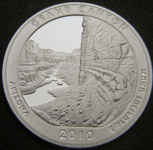 2010-S Grand Canyon Quarter - Silver Proof
