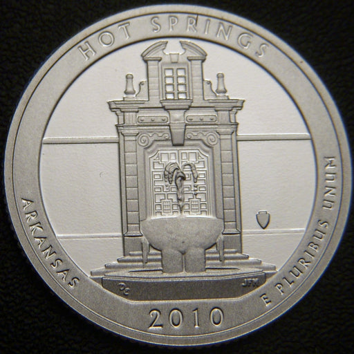 2010-S Hot Springs Quarter - Silver Proof