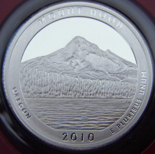 2010-S Mount Hood Quarter - Silver Proof