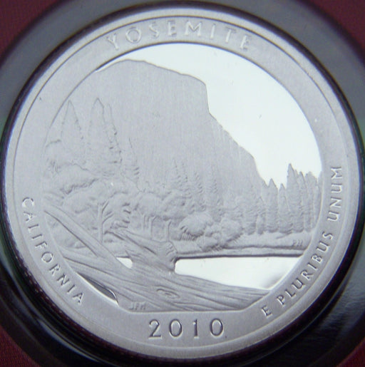 2010-S Yosemite Quarter - Silver Proof