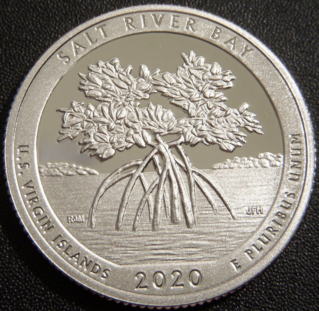 2020-S Salt River Bay Park Quarter - Clad Proof