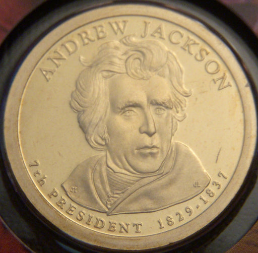 2008-S A. Jackson Dollar - Proof