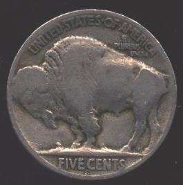 1935-S Buffalo Nickel - Good/VG