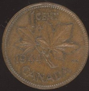 1944 Canadian Cent - VG/Fine