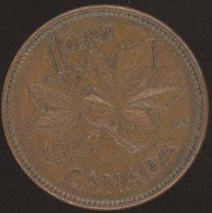 1947 Canadian Cent - VG/Fine