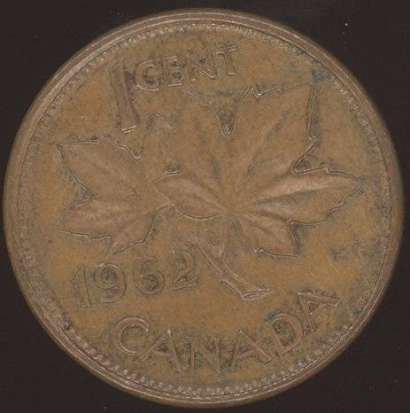 1962 Canadian Cent - VG/Fine
