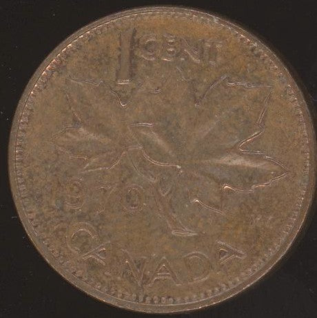 1970 Canadian Cent - VF or Better
