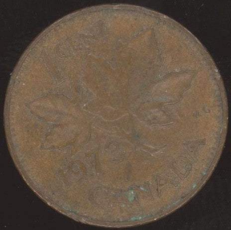 1973 Canadian Cent - VF or Better