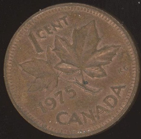 1975 Canadian Cent - VF or Better