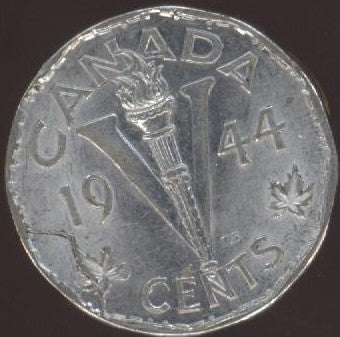 1944 Canadian 5C - Fine to EF