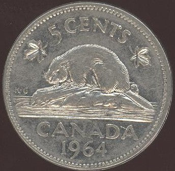 1964 Canadian 5C - Fine to EF