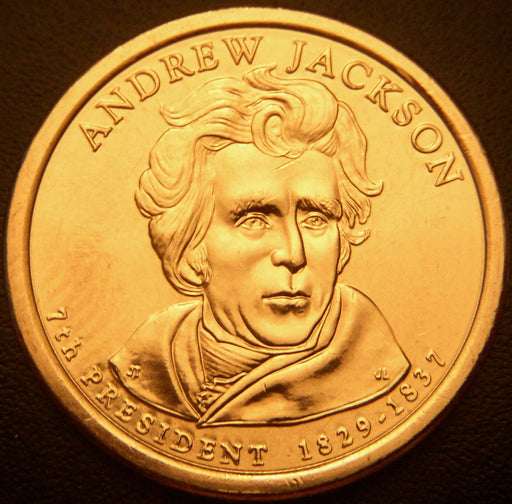 2008-P A. Jackson Dollar - Uncirculated