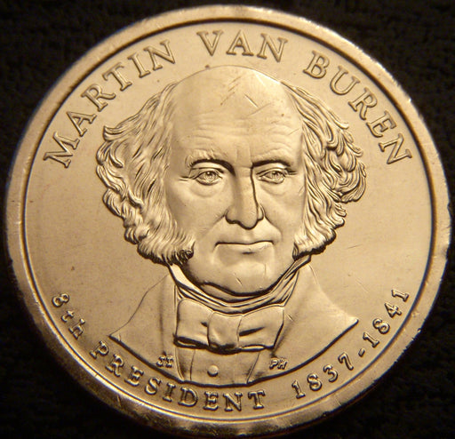2008-P M. VanBuren Dollar - Uncirculated