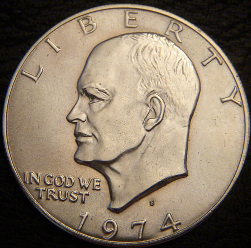 1974-S Eisenhower Dollar - Silver Uncirculated
