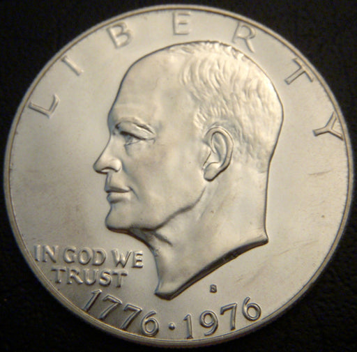 1976-S Eisenhower Dollar - Silver Uncirculated