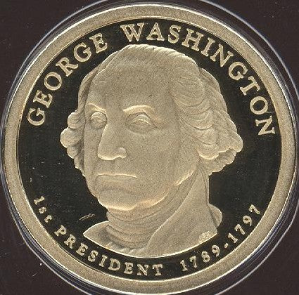 2007-S Washington Dollar - Proof