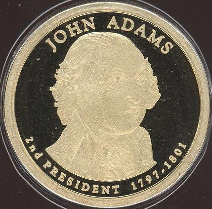2007-S J. Adams Dollar - Proof