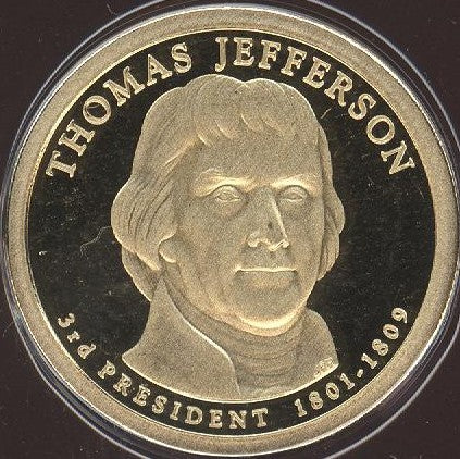 2007-S T. Jefferson Dollar - Proof