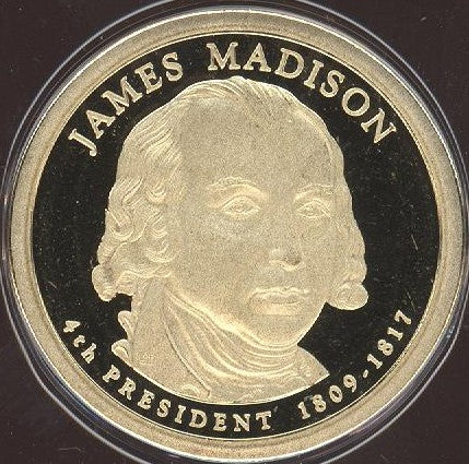 2007-S J. Madison Dollar - Proof