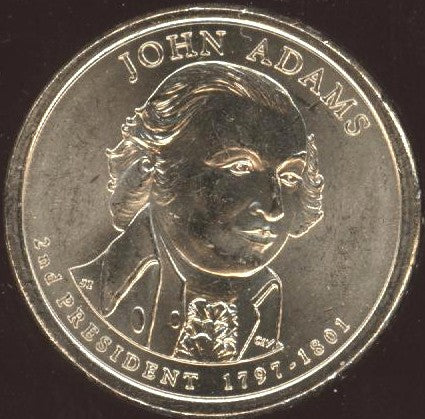 2007-D J. Adams Dollar  - Uncirculated
