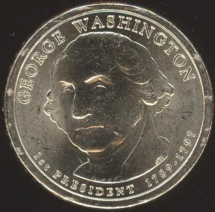 2007-D Washington Dollar - Uncirculated