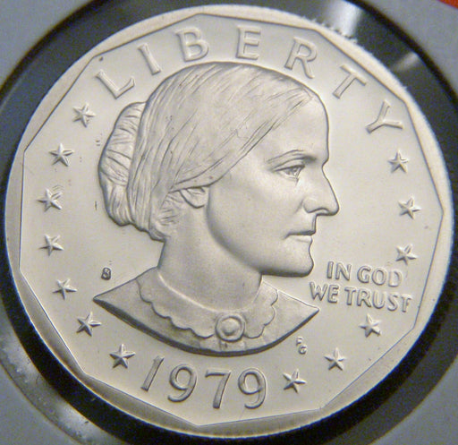 1979-S Susan B. Anthony Dollar - T1 Proof Filled S