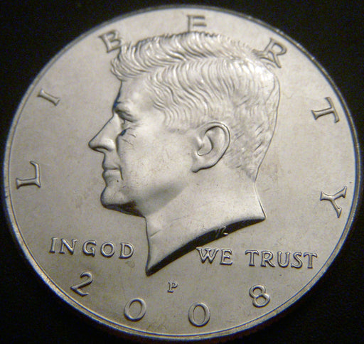 2008-P Kennedy Half Dollar - Uncirculated