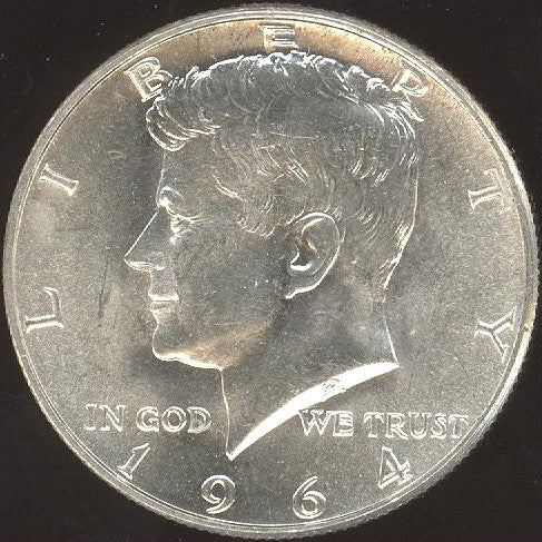 1964-D Kennedy Half Dollar - Uncirculated