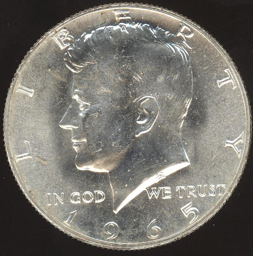 1965 Kennedy Half Dollar - Uncirculated