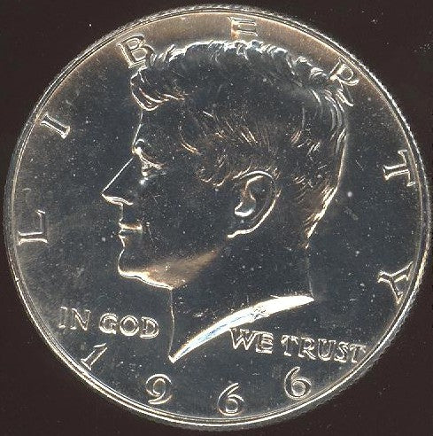 1966 Kennedy Half Dollar - Uncirculated