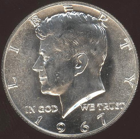 1967 Kennedy Half Dollar - Mint State