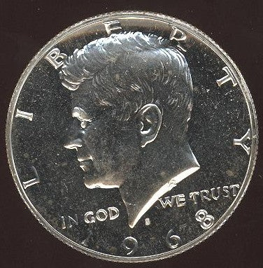 1968-S Kennedy Half Dollar - Proof