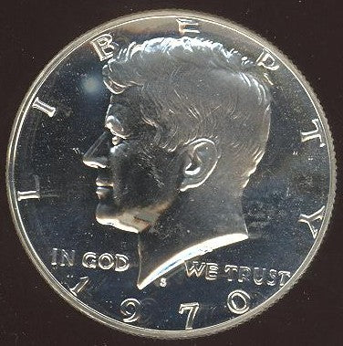1970-S Kennedy Half Dollar - Proof