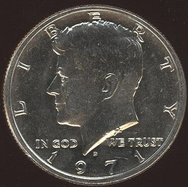 1971-D Kennedy Half Dollar - Uncirculated