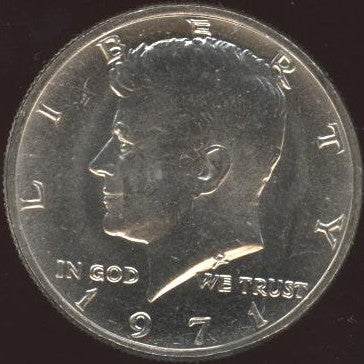 1971 Kennedy Half Dollar - Uncirculated