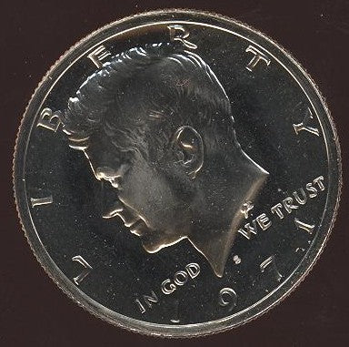 1971-S Kennedy Half Dollar - Proof