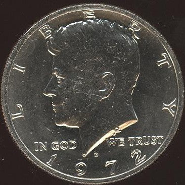 1972-D Kennedy Half Dollar - Uncirculated