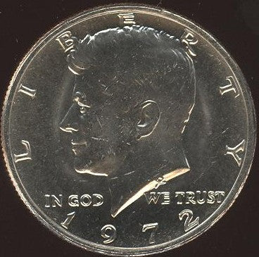 1972 Kennedy Half Dollar - Uncirculated