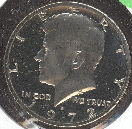 1972-S Kennedy Half Dollar - Proof