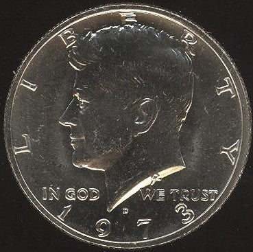 1973-D Kennedy Half Dollar - Uncirculated
