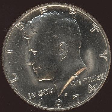 1974-D Kennedy Half Dollar - Uncirculated