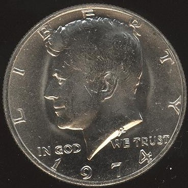 1974 Kennedy Half Dollar - Uncirculated